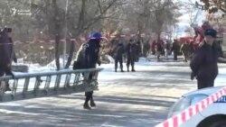Бишкектеги имаратта өрт чыкты