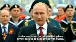 In Crimea, Putin Hails Return Of Peninsula To 'Motherland'