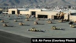 کابل هوايي ډګر د طالبانو تر کنټرول وړاندې