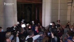 Protesters Against Renewed COVID-19 Restrictions Invade Serbian Parliament