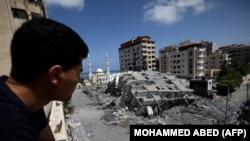 Gaza, 12 maj, 2021.