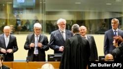 """Šestorica čelnika """"Herceg-Bosne"""" u sudnici Tribunala u Hagu"""