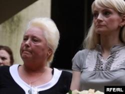 Мати та дружина зниклого журналіста Ольга Завадська і Светлана Завадська