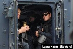 Policia e Kosovës gjatë aksionit