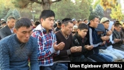 Курман айт намазы. Бишкек, 15-октябрь, 2013