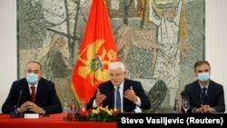 Crnogorski premijer Duško Marković (u sredini)