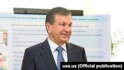 Uzbek President Shavkat Mirziyoev (file photo)