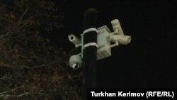 Fəvvarələr Meydanında quraşdırılan təhlükəsizlik kameraları