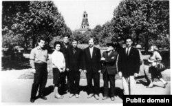 Активисты национального движения в 1960-х