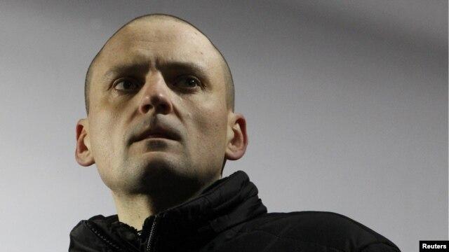 Opposition leader Sergei Udaltsov