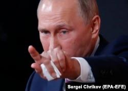 Președintele rus Vladimir Putin