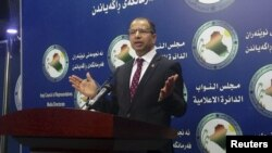 Kryetari i Parlamentit të Irakut, Salim al-Jabouri,14 prill 2016