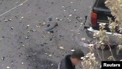 Полиция чабуул болгон жерди издеп жүрөт. Тараз, 14-ноябрь 2011
