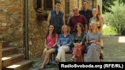 Українські художники – учасники пленеру в Італії