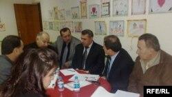 ورشة عمل لاحدى منظمات المجتمع المدني في دهوك