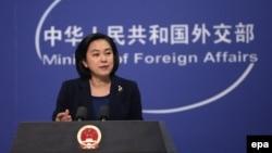 هوا چونیانگ، سخنگوی وزارت خارجه چین