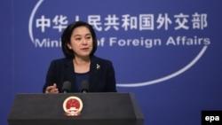 Қытай сыртқы істер министрлігінің ресми өкілі Хуа Чуньин.
