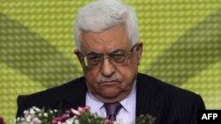 Палестина автономиясының жетекшісі Махмуд Аббас.