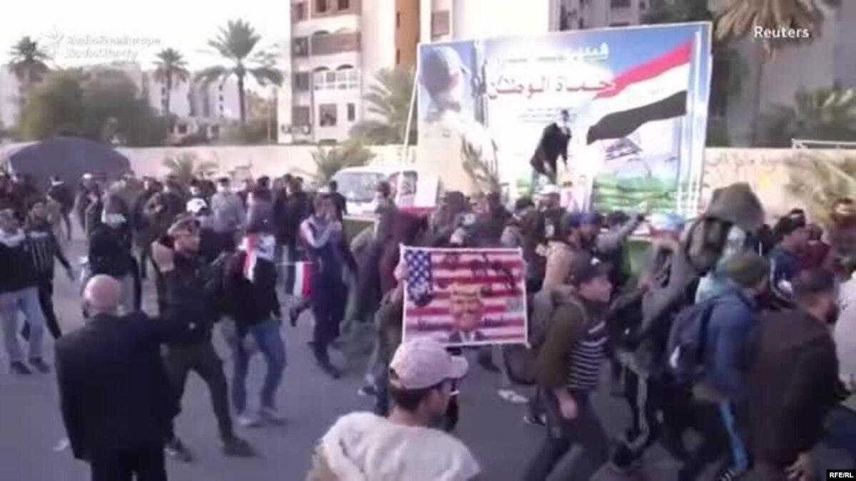 Парламент Ирака принял резолюцию о выводе войск США с территории страны