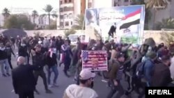 В Тегеране состоялась акция протеста в связи с действиями США на Ближнем Востоке