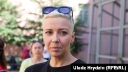 Марыя Калесьнікава, архіўнае фота