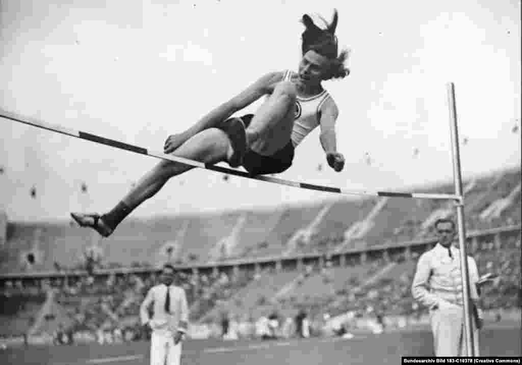 Dora Ratjen competed in the women's high jump at the 1936 Berlin Olympics. Ratjen had a cute bob and an enormous leap but refused to shower naked with female teammates...