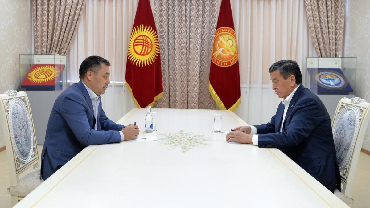 Президент Кыргызстана утвердил Жапарова в должности премьера