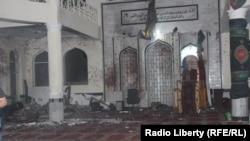 """Мечеть """"Имам Заман"""", где был совершен теракт. Район Дашт-и-Барчи в Кабуле, 20 октября 2017 года."""