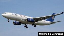 Եգիպտական ավիաուղիների՝ EgyptAir-ի օդանավ, արխիվ