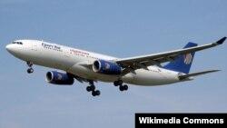 EgyptAir компаниясының ұшағы (Көрнекі сурет).