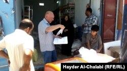 Organizata humanitare Mercy Corps duke u dhënë ndihma personave që kanë nevojë