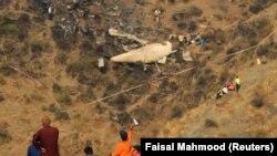 """Pakistanda heläkçilige uçran """"ATR-42"""" kysymly uçar. 8-nji dekabr, 2016 ý."""