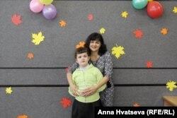 Анна Хватцева с дочерью Викой
