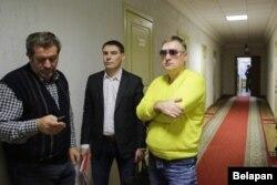 Бацька і муж Тацяны Цібец, справа — Анатоль Шумчанка