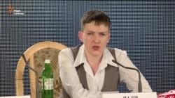Савченко: Українці, якщо вам треба, щоб я була президентом, я буду (відео)