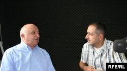კოტე ჟღენტი (მარცხნივ) და ირაკლი სესიაშვილი
