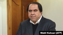 Former Afghanistan Football Federation President Keramuddin Karim (file photo)