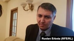 Руслан Әбдіхалықов, байланыс және ақпараттандыру салсындағы бақылау басқарамсының жетекшісі. Астана, 22 қаңтар 2016 жыл.