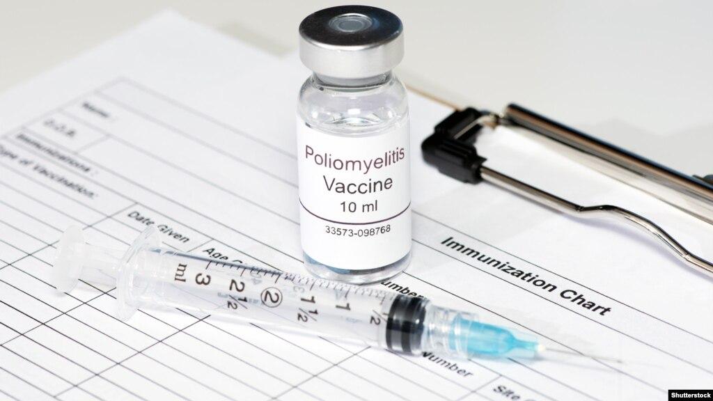 Вакцинації проти поліомієліту: 30 листопада cтартує другий тур