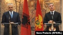 Edi Rama i Milo Đukanović