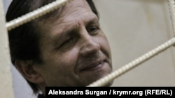 Volodymyr Balukh appears in court last month.
