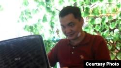 Қазақ блогшысы, әрі веб-дизайнері Ерлан Оспан