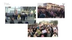 «Маршы недармаедаў» у Бабруйску, Рагачове і Воршы