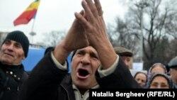 Антиурядові протести у Молдові, Кишинів, 29 листопада 2015 року