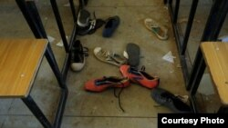 عکس مربوط به ربودن تعداد دیگری از دانشآموزان نیجریه در سال جدید میلادی است