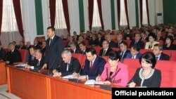 New Tajik government