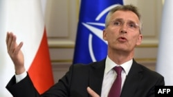 "NATO Secretary-General Jens Stoltenberg: ""We are faced with uncertainty."""