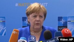 Канцлер Германии Ангела Меркель (архив)