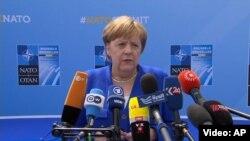 Ангела Меркел.