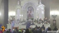 Հայ Առաքելական եկեղեցիներում այսօր Ճրագալույցի պատարագ մատուցվեց